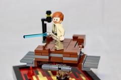 Anakin vs Obi-Wan (LEGO Shusuke) Tags: clone clonetrooper starwars mustafar lego minifigures jedi army minifigure clonewars armory custom episode3 ai moc mine duel war sith vader force lightsaber ifttt instagram darth alien minifig mech droid