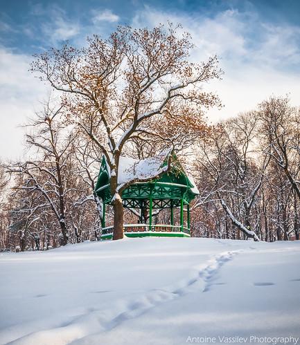 Зимна беседка / Winter gazebo