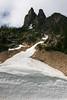 Early Winters Spires, South 7,807 ft North 7,760 ft - North Cascades NP, WA, USA (Nick Dean1) Tags: washington washingtonusa washingtonstate mountain chelancounty northcascadesnationalpark nationalpark cascades cascadesmountainrange ngc earlywintersspires