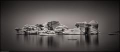 Bones - Jökulsárlón (niggyl (well behind)) Tags: vatnajökull ringroad þjóðvegur1 hringvegur suðurlandsvegur höfn iceland ísland suðurland inspiredbyiceland icelandiclandscape fujifilm fujinon breathtakinglandscapes luminar2018 landscape kirkjubæjarklaustur fujifilmxt2 fujixt2 xt2 fujinonxf2314r fujixf2314r xf2314 jökulsárlón jökulsárlónglacierlagoon iceberg fog rain mist mono monochrome longexposure ndfilter nisi10stopndfilter nisifilters coppertoner silverefexpro