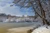 Icy (FocusPocus Photography) Tags: winter schnee snow landschaft landscape see lake bärensee parkseen badenwuerttemberg stuttgart eis ice kalt cold bäume trees