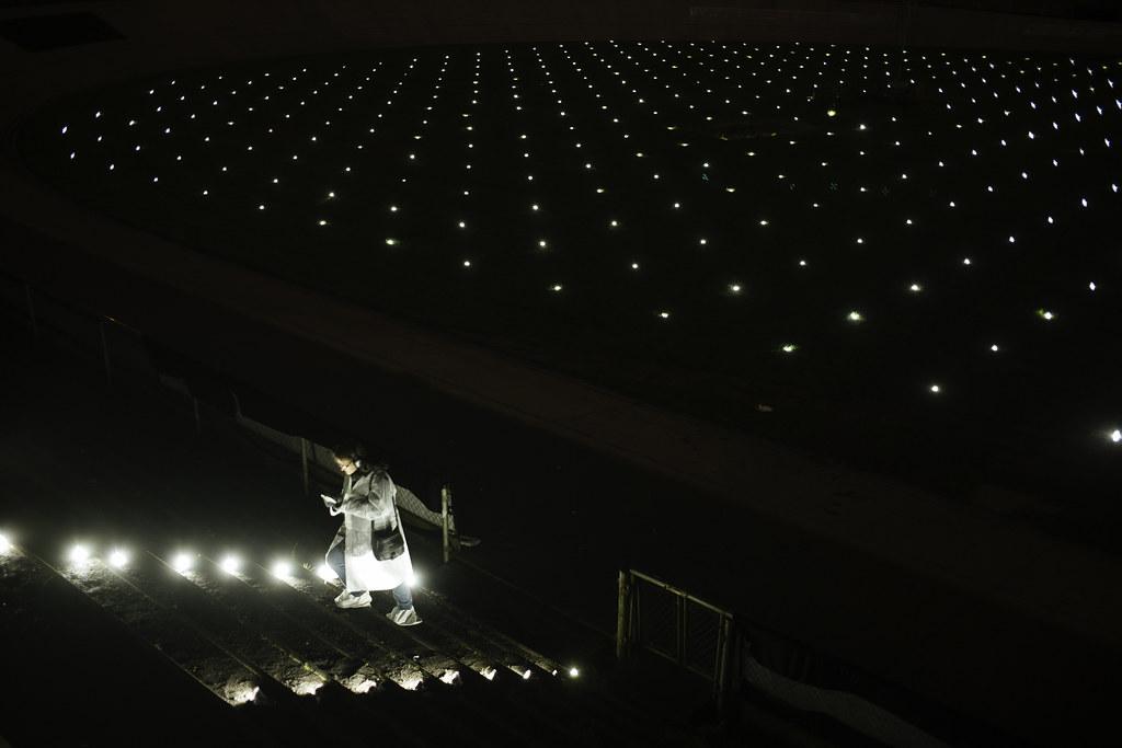 Blast Theory, Aarhus 2017. O Space at Aarhus Harbour and Aarhus Cyklebane. Photo: Asbjørn Sand