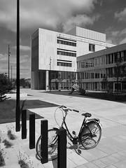 Ørestad n. 1 (Franco & Lia) Tags: copenhagen københavn ørestad amager architettura architecture bike bicycle bicicletta biancoenero blackandwhite noiretblanc