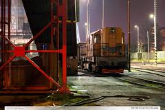 740.795-0 | trať 331 | Zlín-střed (jirka.zapalka) Tags: train trat331 rada740 stanice zlin night autumn czech