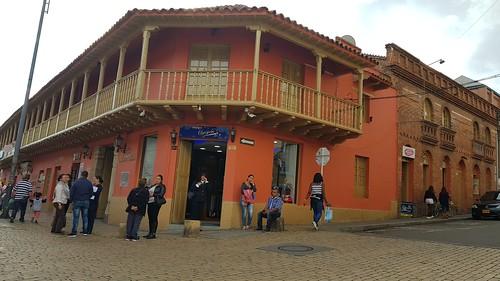 2152 Zipaquirá, Colômbia. Pueblo de Zipaquirá