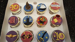 Harry Potter Cupcakes (Victorious_Sponge) Tags: harry potter cupcakes wizard boys girls birthday party