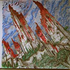 Château de Harren le Noir. (mmarple62) Tags: coloriage coloring coloringbook albumdecoloriage gameofthrones harrenhal harrenhalcoloringpage couleurs crayon colors