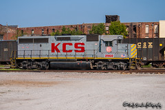 KCS 2960 | EMD GP40-3 | KCS Meridian Yard (M.J. Scanlon) Tags: kcs2960 emd gp402 gp403 rebuilt bn3050 slsf760 kcs4810 kcs kansascitysouthern kcsmeridianyard bn burlingtonnorthern slsf frisco stlouissanfranciscorailway yard meridian mississippi tree sky digital merchandise commerce business wow haul outdoor outdoors move mover moving scanlon mojo canon eos engine locomotive rail railroad railway train track horsepower logistics railfanning steel wheels photo photography photographer photograph capture picture trains railfan