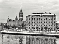 Stockholm (m.pertti) Tags: landscape travel architecture city blackandwhite monochrome stockholm sweden ngc