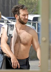DSCN1645 (danimaniacs) Tags: sydney australia bondibeach shirtless man guy sexy hot beard scruff