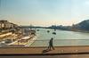 Walking on Erzsebet Bridge (fotofrysk) Tags: erzsebetbridge elizabethbridge walking pedestrians duna danube river boats szechenyi chain bridgebridgesbuildingsarchitecturehop on hop off buseastern europe triphungarybudapestsigma 1750mm f28 ex dc ox hsmnikon d7100 201710018238
