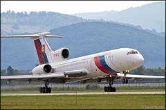 Tupolev Tu-154M OM-BYO (Pavel Vanka) Tags: tupolev tu154m tu154 slovakairforce slovakiaairforce trimotor passengerplane vip airforce airforceone siaf sliac lzsl airshow slovakia plane airplane aircraft spotting spotter jet fly flying