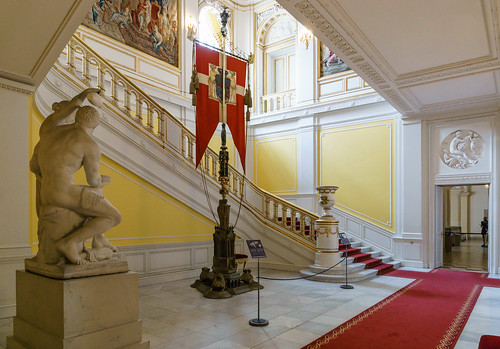 The King's Staircase, Christiansborg Palace