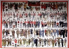 British Military Uniforms (pefkosmad) Tags: jigsaw puzzle hobby leisure pastime commplete used secondhand citadelpuzzles tonyhuntri british military uniforms britishmilitaryuniforms