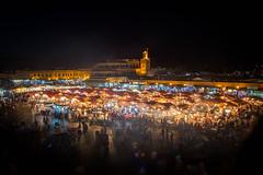 Thinking of Holidays Again ... Marrakesh Medina? (Ged Slaughter Photography) Tags: maroc marrakesh market marrakech night nightscape gedslaughter morocco medina