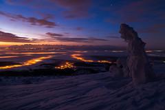 Świt (Roberto_J) Tags: noc nocnafotografia góry mountain beskidy