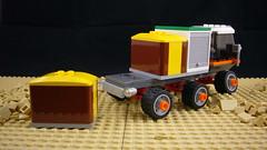 Cargo Rover 6x6 (FebRovery 2018) 03 (-Nightfall-) Tags: lego moc 6x6 car rover febrovery space truck cargo