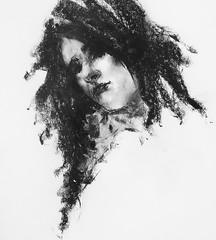 P1017517 (Gasheh) Tags: art painting drawing sketch portrait girl charcoal gasheh 2018