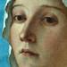 BELLINI Giovanni,1487 - La Vierge et l'Enfant entre Saint Pierre et Saint Sébastien (Louvre) - Detail 12