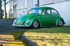 VW Beetle (Trackside70) Tags: 2018 bicester bicesterheritage sundayscramble january classic classiccars sportscars sunshine cars historic automobile nikond300s nikonafsdxnikkor1685mmf3556gedvr polariser garywalton vw beetle green modified lowered
