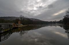 Dam. (S.K.1963) Tags: elements abbeydale industrial hamlet pond water dam reflection olympus omd em1 mark ii 7 14mm 28 pro