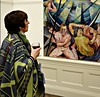 Steve des Landes Private View - Un-settled (16) (ronramstew) Tags: artist painter paintings oils stevedeslandes exhibition privateview wirral merseyside birkenhead january 2018 2010s williamsonartgallery unsettled