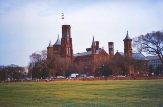 Washington DC - Smithsonian Castle Building - Historic