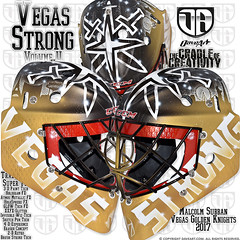 Vegas Strong - Volume II (DAVEART MaskGallery) Tags: subban vegas golden knights nhl daveart