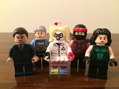 Purist Figures: 4 Villains and a Cop