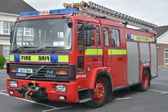 Galway County Fire Service 1995 Volvo FL6 14 Excalibur WrL 95G7849 (Ex Oxfordshire N438CBW) (Shane Casey CK25) Tags: galway county fire service 1995 volvo fl6 14 excalibur wrl 95g7849 n438 cbw n438cbw oxfordshire ex red truck lorry fireengine engine water rescue ladder pump emergency man men crew officer fighter fireman firemen firefighter firestation firebrigadesociety brigade bluelights blue lights light flashing flash siren sirens retained fbs mountbellew tender golf yankee