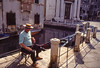 Slide copies, March 1983, Venice (alh1) Tags: agfact18film march 19831983 box 8box 84 italy venice copies film holiday slides transparencies venezia gondolier canal