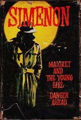 Simenon - Readers Book Club_1957 (Boy de Haas) Tags: vintage bound books 1950s fifties translation french english hayles