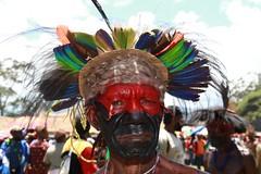 Portrait au Goroka show (michel David photography) Tags: papua newguinéa portrait tribe goroka