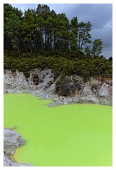 Rotorua (AdrienMD) Tags: rotorua national park sulfur source new zealand smokes nouvelle zélande northern north island