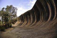 Wave Rock (Kat-i) Tags: australien waverock westernaustralia granit gesteinsformation naturalrock granite welle naturalrockformation hyden nikon1v1 kati katharina