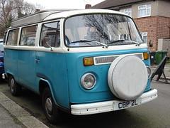 1973 Volkswagen Camper Van (Neil's classics) Tags: vehicle van camper 1973 volkswagen vw camping motorhome autosleeper motorcaravan rv caravanette kombi mobilehome dormobile