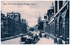 Oxford - The High From Queen's College (pepandtim) Tags: postcard old early nostalgia nostalgic oxford high street queens college valentine hansom cab joseph architect york speed safety centre gravity cabriolet 1908 taximeter petrol 1920 horse 37thf44
