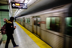 It's gone (Hub☺) Tags: 2013 canada ontario station subway toronto train transit transport ttc ca