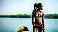 (Conscious Scofield) Tags: guinebissau bissau guineabissau guinea guine quinhamel river rio fisherman oysters oyster ostra model fashion goddess hairs afro darkskin street photography kids kid smile smiles children africa african