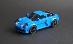 Lego 2018 Alpine A110  - 01 (Jonathan Ẹlliott) Tags: alpine renaultalpine a110 alpinea110 lego moc speedchampions vehicle