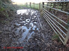 DSC05840 Tanners 40 - 2018 01 17 - Very Muddy Path (John PP) Tags: ldwa tanners tannersmarathon winter 40 miles long distance walkers association january 2018 solo hike johnpp