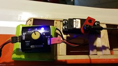 Servo tester plugged in (JD and Beastlet) Tags: