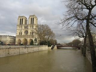 Crue de la Seine, 26 janvier 2018, Paris Ier