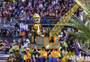 Digger Dog (Thad Zajdowicz) Tags: zajdowicz pasadena california roseparade 2018 usa outdoor outside canon eos 5dmarkiii 5d3 digital dslr color colour festive availablelight lightroom ef70200mmf4lisusm people street city urban parade crane dog float