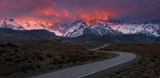 The Road to Fitz Roy