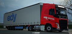 Volvo FH E6 - Edy Spedition WiP [ETS2] (gripshotz) Tags: volvo fh euro 6 edy spedition romania truck simulator ets 2