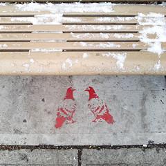 Pigeons Stencil