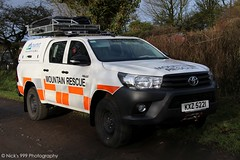 North West Mountain Rescue Team / Mobile 1 / KXZ 5221 / Toyota Hilux / Incident Response Vehicle (Nick 999) Tags: north west mountain rescue team mobile 1 kxz 5221 toyota hilux incident response vehicle nwmrt northwestmountainrescueteam mobile1 kxz5221 toyotahilux incidentresponsevehicle emergency