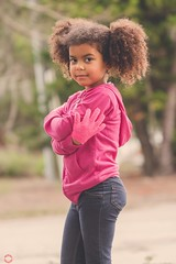 """""""So much sass"""" (dfxphoto) Tags: florida daddy'sgirl 100mm cloudy outside color pink girl princess portrait children kinder"""
