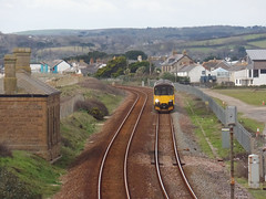 150120 Marazion (1) (Marky7890) Tags: gwr 150120 class150 sprinter 2a85 marazion railway cornwall cornishmainline train